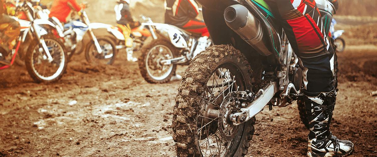 moto de enduro