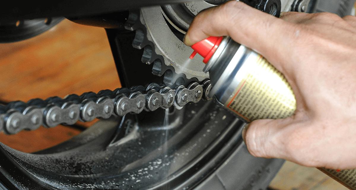 lubrificação da moto