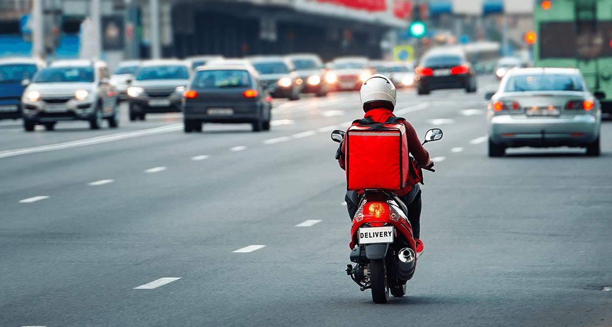 motociclistas durante o coronavírus